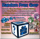 Copyable Random Prize Giver - With Group option - Event Aid - Party Door Prizes