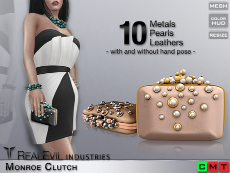 **RE** Monroe Clutch * MESH * (*DIVA* Collection)
