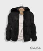 [Vato Loko] Arctic Hooded Jacket (M) - Black