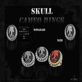 AccessoriZe Skull Cameo Ring Dark Brown