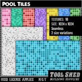 Tool Shed - Pool Tiles