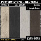 Tool Shed - Pottery Stone - Neutrals