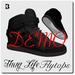 Blackburns Thug Life Flytop Sneakers DEMO