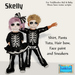 ToddleTeeZ {By: Z} Skelly Outfit