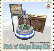 Fish 'n' Chips Buoy Kit - Blue