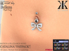 -KC- CATALINA NAVEL PIERCING FOR MAITREYA & BELLEZA (FITMESH)