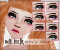 milk teeth. Hysteria Eyes for M3 Venus Anime Head, M3 head, Kemono & Avatar 2.0 Head
