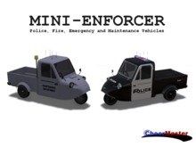 Police, Fire, Emergency and Maintenance Vehicle Pack
