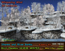 21strom: Birch Meadow SEVERE WINTER Mesh Landscape with Rock Cliffs and Wind Effect
