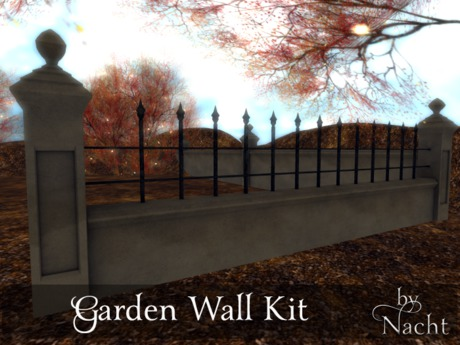 *~by Nacht ~ Garden Wall Kit