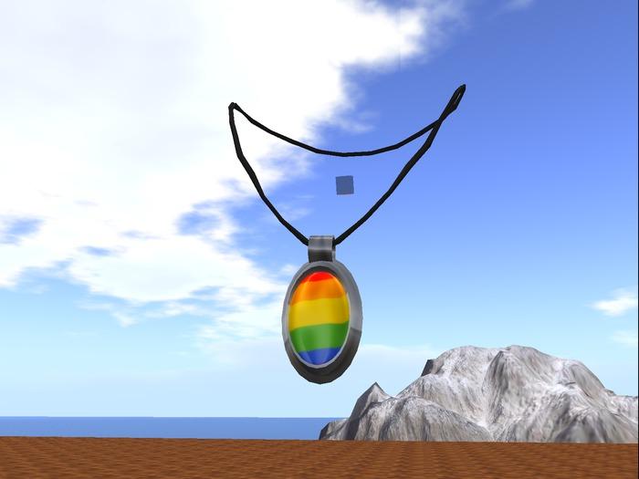 Gay Pride Necklace (Animated)