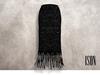 ISON - lace pencil skirt (black)