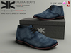 Chukka :: Shoes Male :: Blue :: {kokoia}