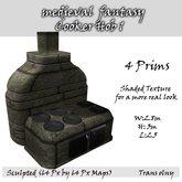 medieval  fantasy Cooker Hob 1 (BOX