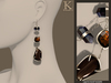 %28kunglers extra%29 iracy earrings   obsidian