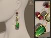 (Kunglers) Iracy earrings - Citrine