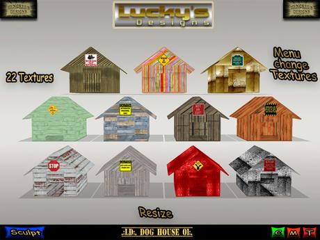 Second Life Marketplace - .:LD:. Dog House 01:.