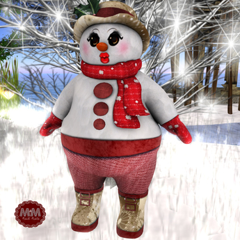 M&M-MESH 1-SNOW-WOMEN AVATAR