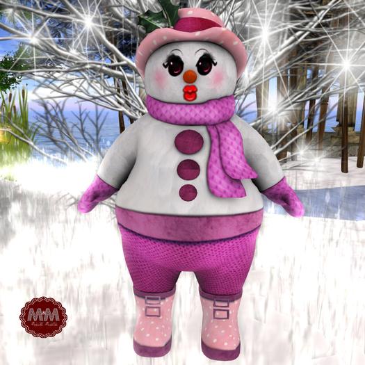 M&M-MESH 2-SNOW-WOMAN AVATAR