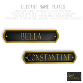 [Teelge] Elegant Name Plates