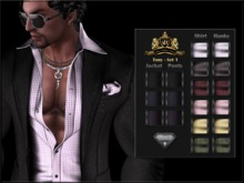 !AEC! AESTHETIC TONY - Casual Suit for men - HUD Driven pack