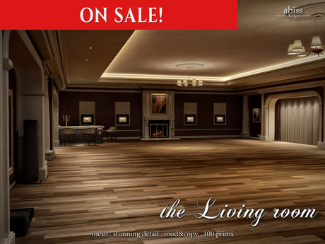 OnSale 15% off [Original] the Living room by Abiss - skybox prefab