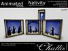(Challis) Light Box Silhouette - Nativity - (DEMO)(BOXED)