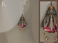 (Kunglers) Elenyr earrings - Rose