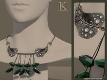 (Kunglers) Eliza necklace - Emerald
