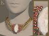 (Kunglers) Elwen necklace - Crystal