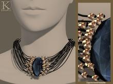 (Kunglers) Elwen necklace - Sapphire