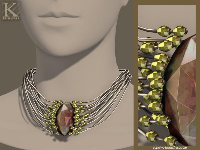 (Kunglers) Elwen necklace - Quartz