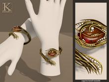 (Kunglers) Yennefer bracelets - Amber