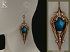 (Kunglers) Finrod earrings - Sapphire