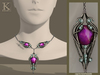 (Kunglers) Finrod necklace - Amethyst