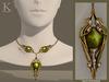 (Kunglers) Finrod necklace - Peridot