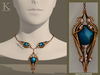(Kunglers) Finrod necklace - Sapphire
