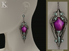 (Kunglers) Finrod earrings - Amethyst