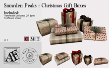 *AF* Snowden Peaks - Christmas Gift Boxes