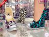 "::MA:: WOODSTOCK ""Leopard"" Wedge Sneakers Slink, Maitreya, #themeshproject - EXCLUSIVE"