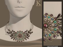 (Kunglers) Anais necklace - Grape