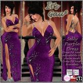 *It's Gau* Selly Purple Dress