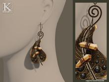 (Kunglers) Eliza earrings - Citrine