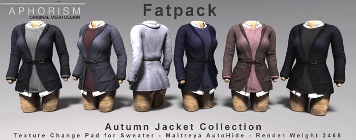 !APHORISM! Autumn Jacket - Fatpack