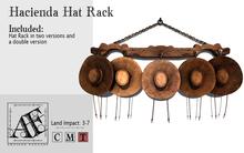 *AF* Hacienda Hat Rack