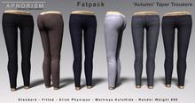 !APHORISM! Taper Trousers - FATPACK