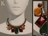 (Kunglers) Melita necklace - Copper