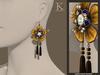 (Kunglers) Blanche earrings - Autumn
