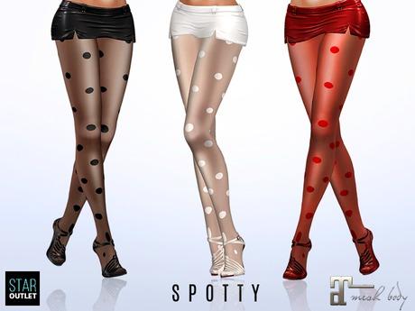 Star Outlet Pantyhose Spotty - Maitreya Applier - 3 Styles