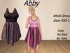 Abby Dress Purple